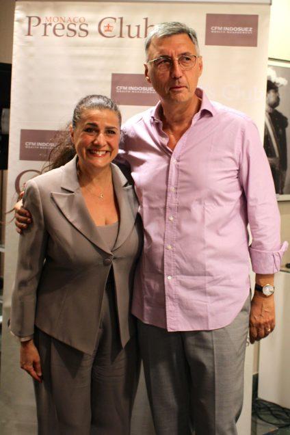 Cecilia Bartoli and Jean-Louis Grinda @CelinaLafuenteDeLavotha
