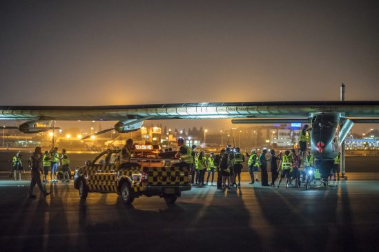 Solar Impulse Takes off from Cairo, Egypt @Solar Impulse Press Team