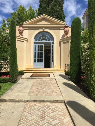 The main entrance at Villa Gallici@CelinaLafuenteDeLavotha