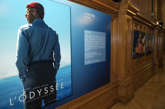 Exhibition of photos from The Odyssey at the Oceanographic Museum of Monaco @M. Dagnino
