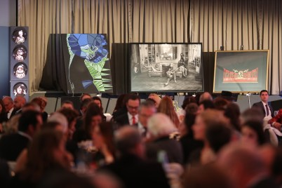 Artworks displayed during the auction @FAM 2016