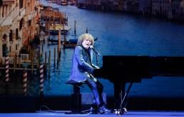 Famous Italian singer Richard Cocciante performing at the Grand Masked Ball of Venice in Monte-Carlo 2017 @Iulian Giurca