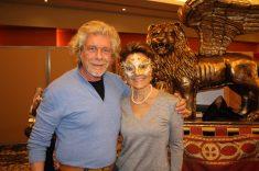 Owner of Nicolao Atelier of Venice with Celina Lafuente de Lavotha@Z. Lavotha