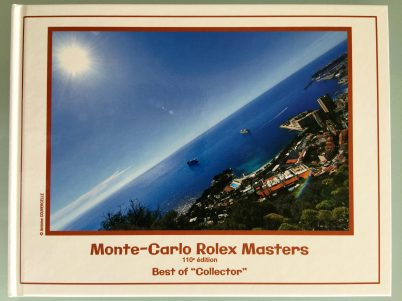 Best of Collector Book 110th edition of Monte-Carlo Rolex Masters