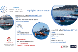 Solar and Electric Boat Challenge, Juy 14-15, 2017 YCM