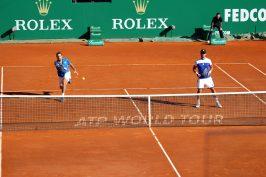 Stan Wawrinka and Fabio Fognini doubles pair MCRM2017 @CelinaLafuentedeLavotha