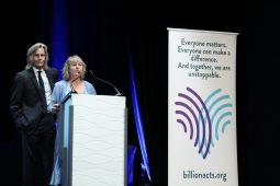 Ivan Suvanjieff & Dawn Engle cofounders of PeaceJam @CelinaLafuentedeLavotha