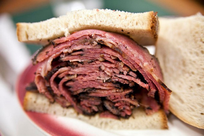 Classic New York Pastrami on Rye