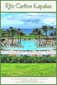 Ritz Carlton Kapalua Maui Review