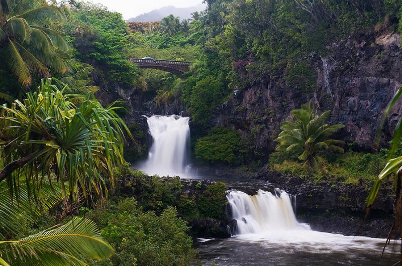 Seven Sacred pools road to Hana