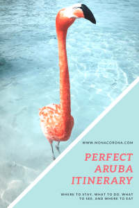 Perfect aruba itinerary