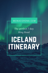 7 day ring road iceland itinerary