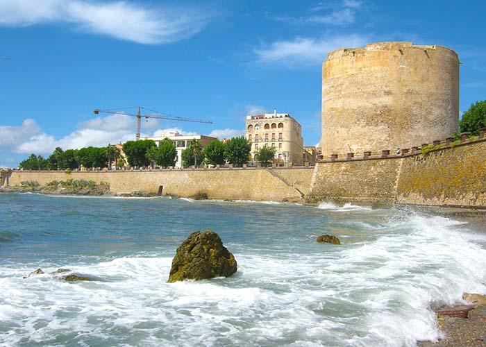Alghero sea walls