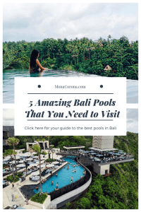 Traveling to Bali soon? Click here to see the top pool and beach clubs in Bali, Indonesia | MonaCorona.com | Things to do in Bali | Bali Bucket List | #Bali #thingstodoin #hotels #beaches #travel #wanderlust #bucketlist #vacation #honeymoon #ubud #seminyak #itinerary #uluwatu #instagram #canggu #indonesia #tips #beachclub #infinitypool #villa #resorts #restaurants #holiday