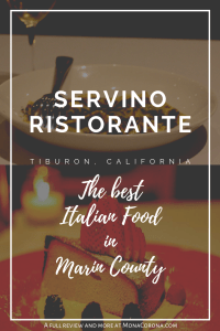 Click here to read a full review of Servino Ristorante in Tiburon, California. In this guide you will also find a review of the best Tiburon hotel, and the top things to do in Tiburon: the most charming town of Marin County, in the Bay Area of Northern California. | MonaCorona.com | #tiburon #marincounty #sanfrancisco #angelisland #goldengatebridge #travel #thingstodo #traveltips #itinerary #california #bayarea #belvedere #usa #northamerica #northerncalifornia #norcal #travelguide #sponsored