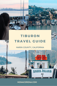 Click here to read all about the top things to do in Tiburon, California. Discover the best Tiburon restaurants, hikes, and day trips such as Angel Island when visiting the Marin County town of Tiburon in the Bay Area. | MonaCorona.com | #tiburon #marincounty #sanfrancisco #angelisland #goldengatebridge #travel #thingstodo #traveltips #itinerary #california #bayarea #usa #northamerica #northerncalifornia #norcal #travelguide