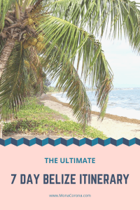 Click here to see the ultimate 7-day Belize Itinerary | Read all about the the top things to do in Belize, where to stay in Belize, the best hotels in Belize, and the best restaurants in Belize. | 7 Day Belize Itinerary in Ambergris Caye, Caye Caulker, and Hopkins | #belize #centralamerica #ambergriscaye #cayecaulker #hopkins #travel #hotels #restaurants #honeymoon #beach #sanpedro #vacation #islands #resorts #jungle #bluehole #barrierreef #scubadiving #snorkeling #itinerary #ruins #cavetubing