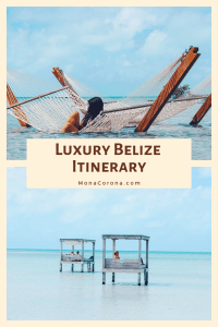 Click here to see the ultimate Luxury Belize Itinerary | Read all about the the top things to do in Belize, where to stay in Belize, the best hotels in Belize, and the best restaurants in Belize. | 7 Day Belize Itinerary in Ambergris Caye, Caye Caulker, and Hopkins | #belize #centralamerica #ambergriscaye #cayecaulker #hopkins #travel #hotels #restaurants #honeymoon #beach #sanpedro #vacation #islands #resorts #jungle #bluehole #barrierreef #scubadiving #snorkeling #itinerary #ruins #cavetubing