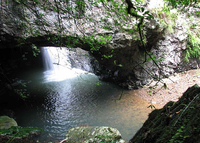 hinterland natural bridge