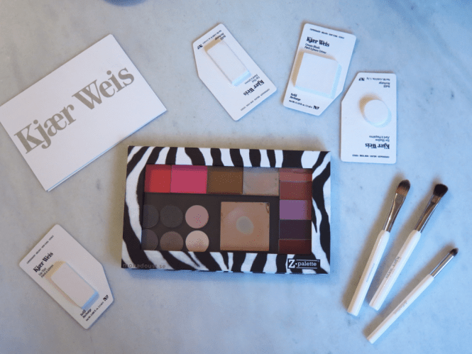 Kjaer Weis and Z palette