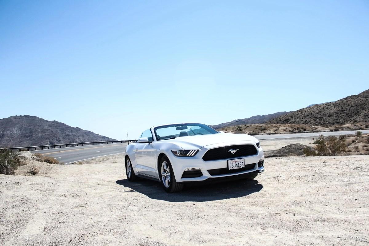 Mustang x California