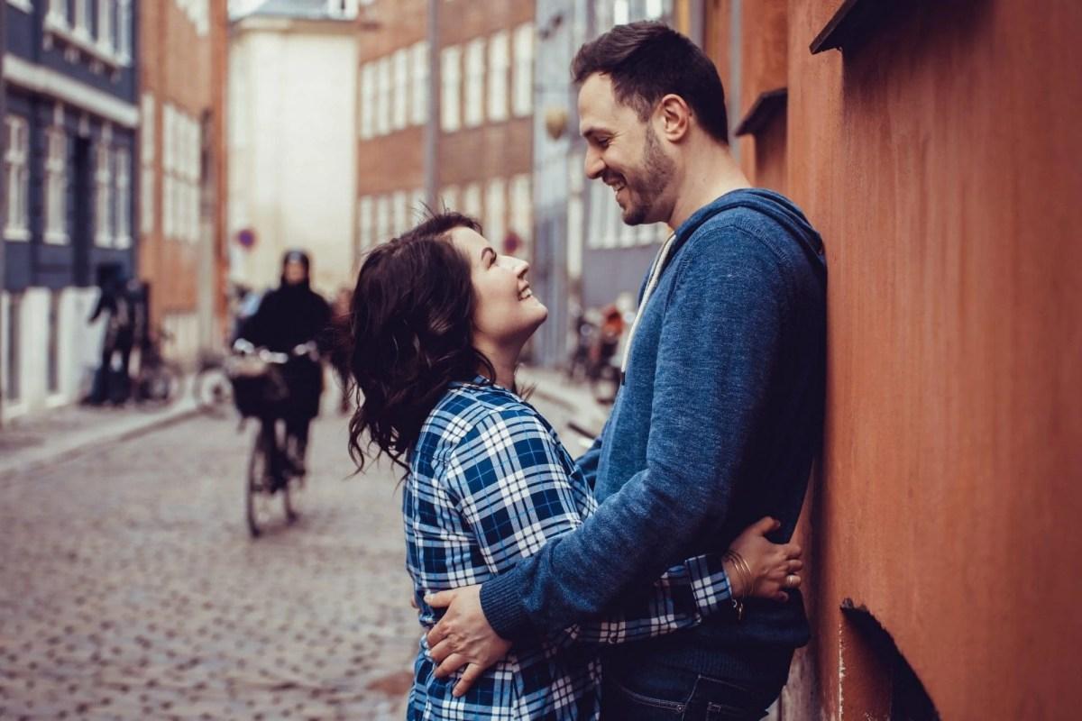Wedding anniversary photoshoot in Copenhagen