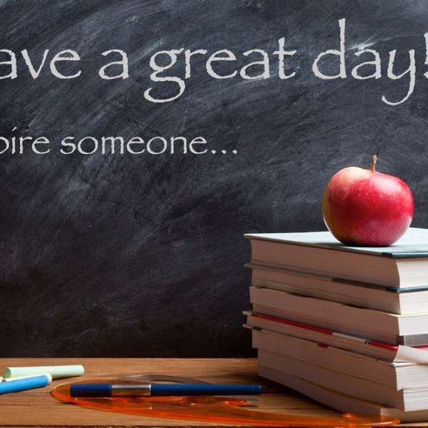 Good Morning! Happy First Day of 2015/2016 School Year!