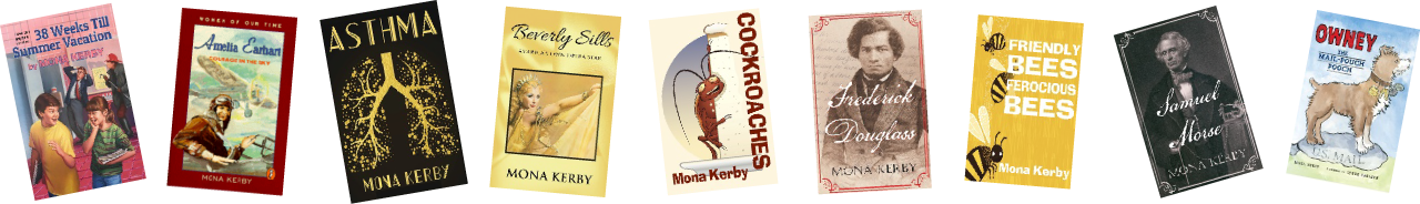 award-winning-author-mona-kerby-books-in-a-row