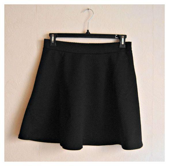 jupe noir h&m