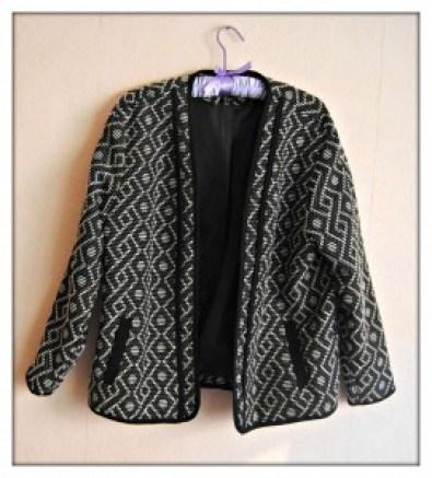 veste noir h&m