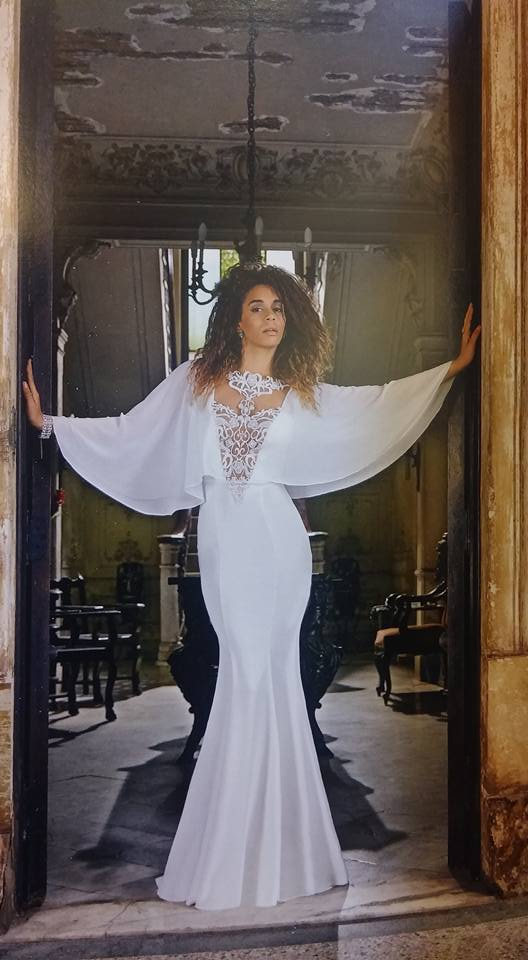 robe libanaise blanche princesse