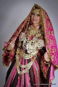 robe djerbienne mariage tunisie