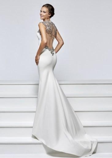 robe blanche dos nu Tarik Ediz