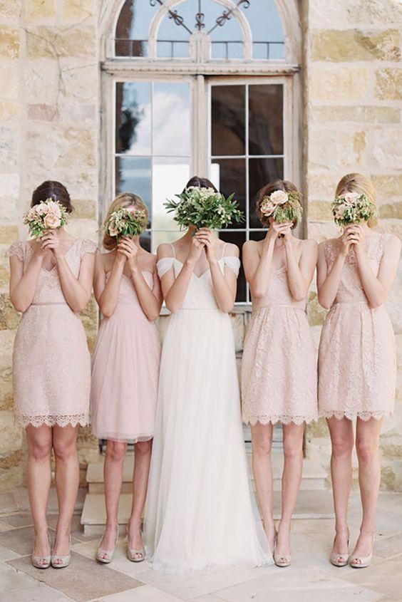 robes-demoiselles-d'honneur-courtes-pastels