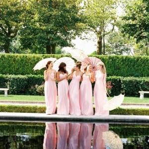 Les plus belles robes de demoiselles d'honneur rose 2019