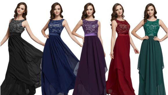 Robe demoiselle d'honneur mariage pas cher
