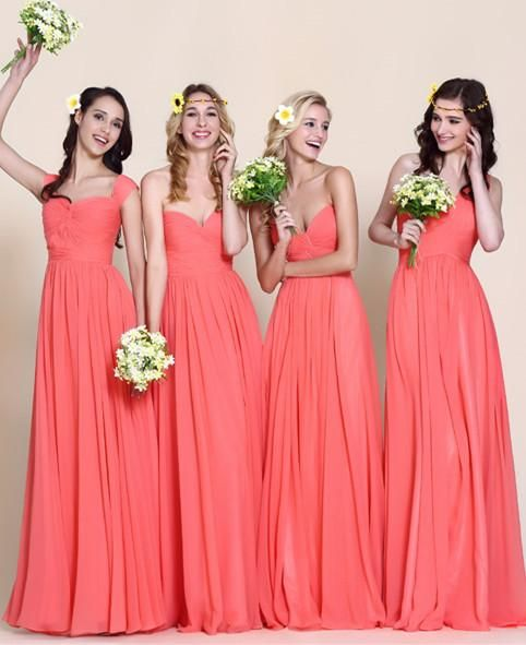 Robes corail