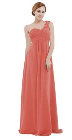 robe corail longue