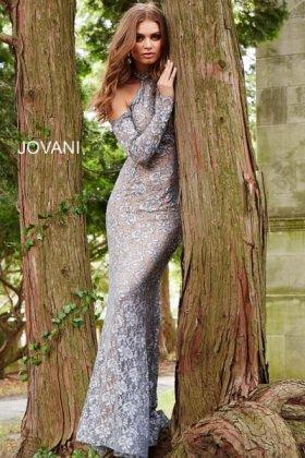 jovani robe de soirée orientale chic glamour sexy rafinnée dubai libanaise marocaine pas cher argenté strass blanc creme nude