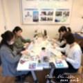 【レポ】富士見市Kon Kon Parkで、アロマストーンサシェとポーセラーツ♪