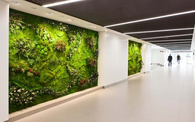 Four Vertical Gardens - GMP Group - Madrid
