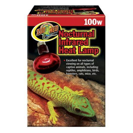 Infrared Heat Lamp 100w - Zoomed