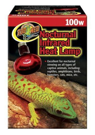 ZooMed Infrared Heat Lamp 100w