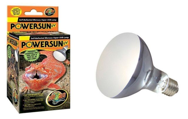 ZooMed Power Sun UV 100w