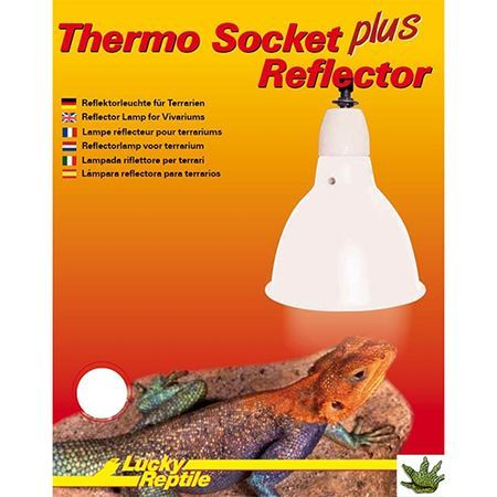 Thermo Socket Plus Reflector Small White