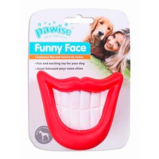 Pawise Juguetes Funny Face sonrisa perro