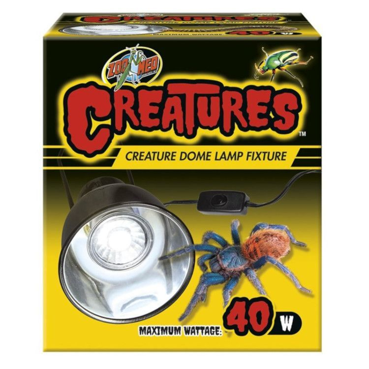 ZooMed Creatures Dome Lamp Fixture 40w