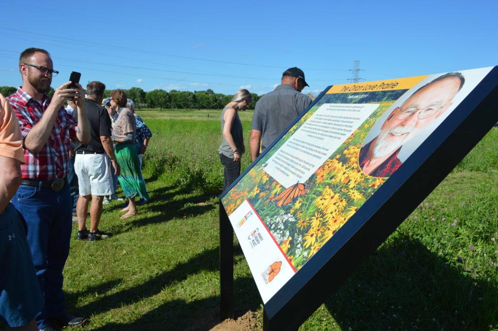 Orlan Love Prairie Dedication