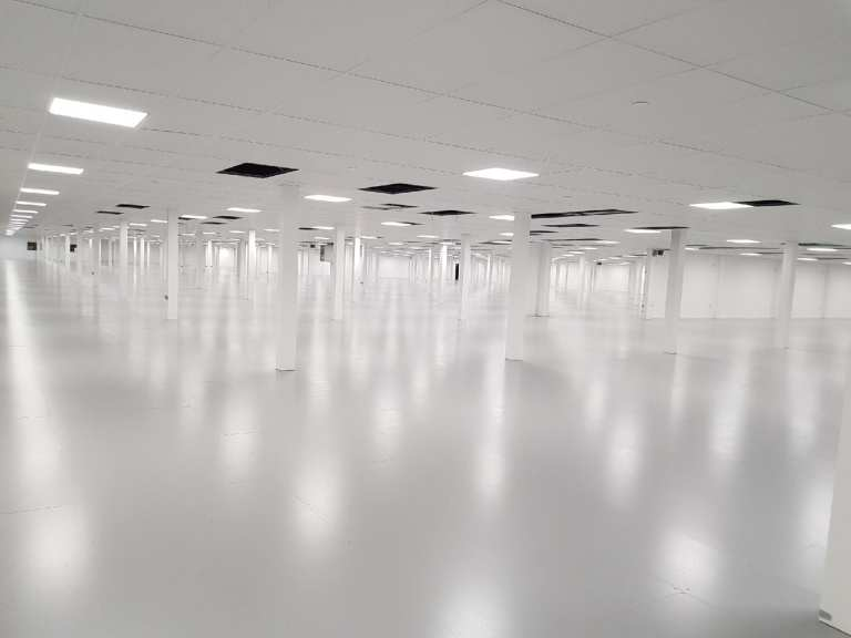 London resin flooring - Monarch Flooring Services - UK resin
