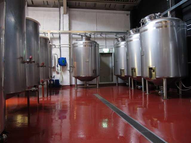 Brewery Flooring - Monarch